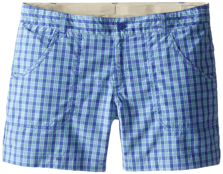 Columbia Sportswear Girl's Silver Ridge III Shorts, Light Grape Plaid, X-Large by Columbia
