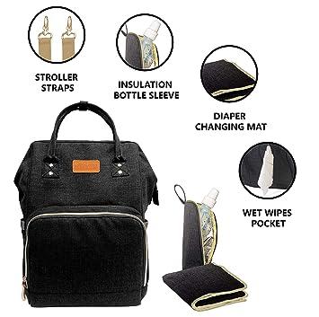 Amazon.com: KIDZY Travel Diaper Bag Backpack: Bolsa de ...