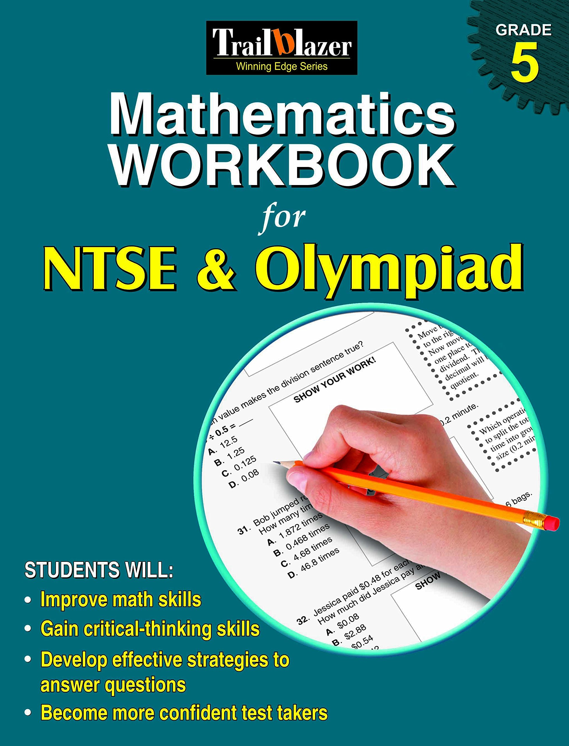 Buy Mathematics Workbook for NTSE & Olympiad Grade 5 Book Online at ...