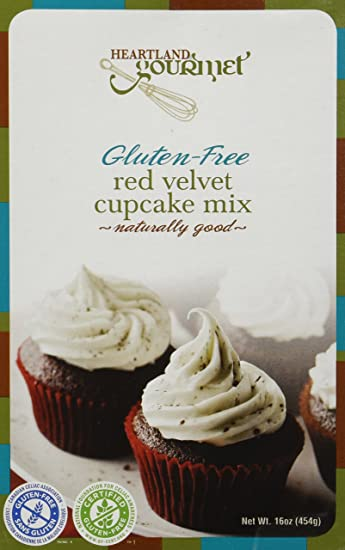 Amazon Com Gluten Free Red Velvet Cupcake Mix Cookie Mixes