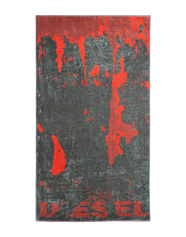 TELO MARE o PISCINA DIESEL GYM 100/% SPUGNA CINIGLIATA di PURO COTONE cm 95 x 180 FLORA SHADOW - BORDEAUX