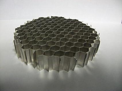 "18/"" x 18/"" x .500/"" Aluminum Honeycomb Grid Core Mesh 1//4/"" Cell"