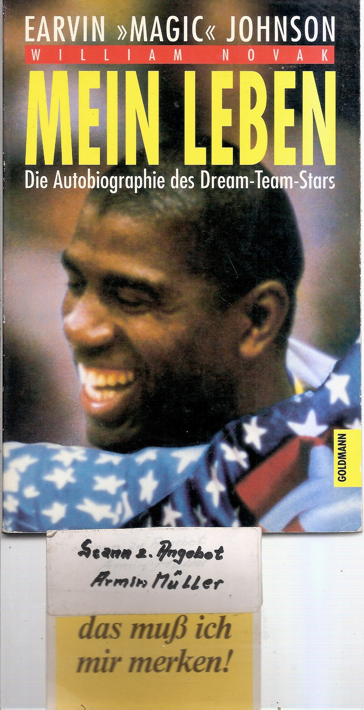 Mein Leben Taschenbuch Earvin Johnson William Novak Magic Johnson 3442422795
