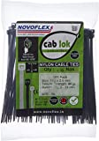Novoflex 100mm Cable Ties, Pack of 100, Black