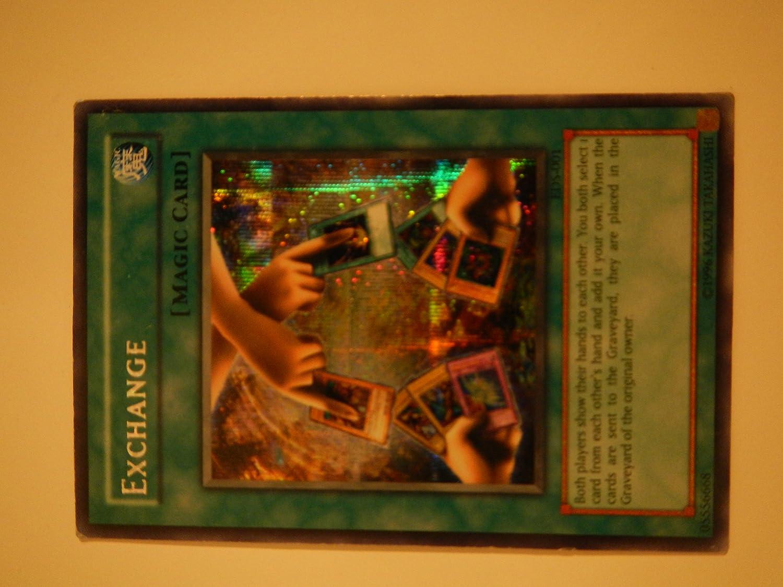 Prismatic Secret Rare NM//VLP EDS-001 Unlimited Edition Yugioh: EXCHANGE -