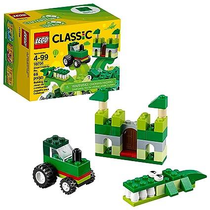 Amazon Lego Classic Green Creativity Box 10708 Building Kit