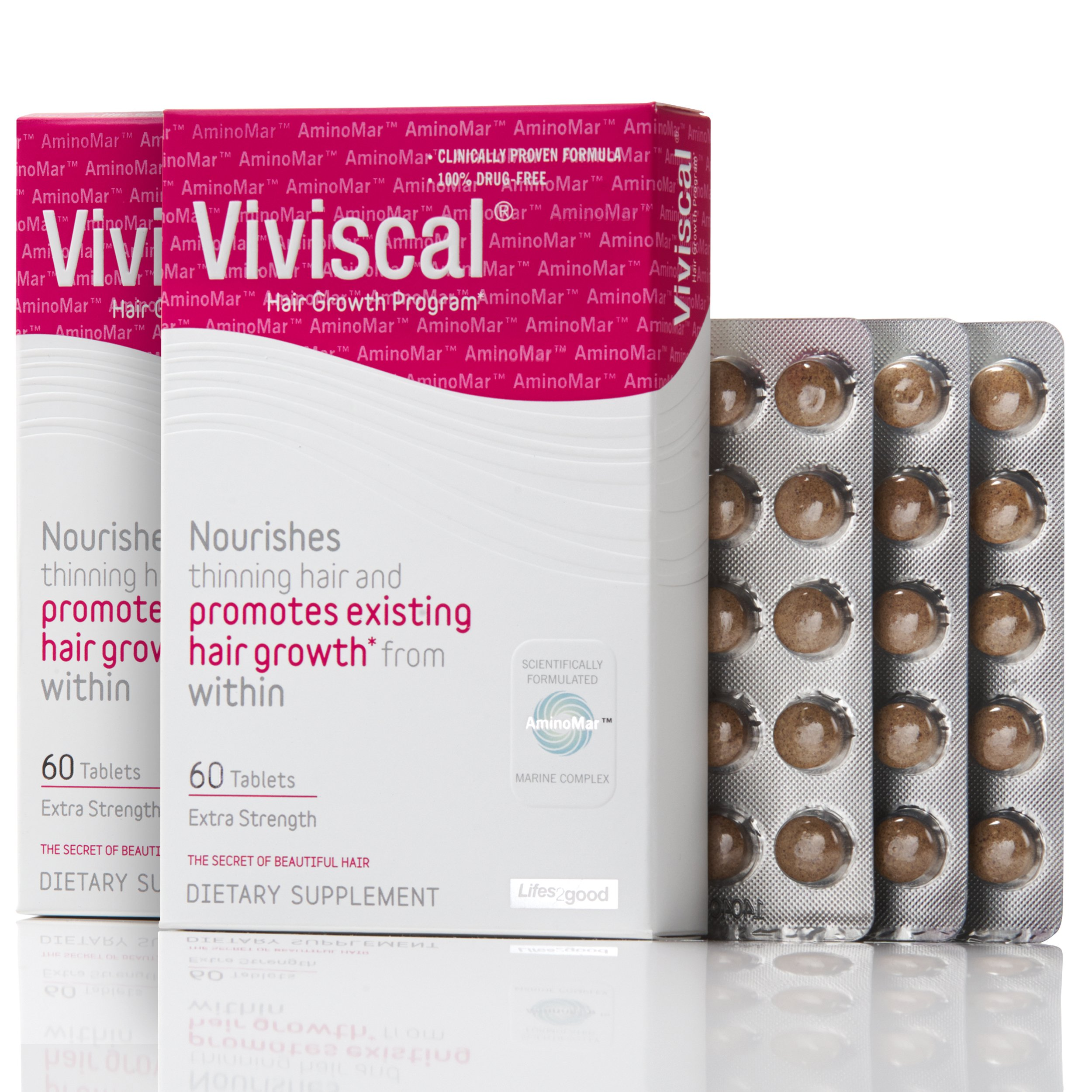 Viviscal Extra Strength Hair Nutrient Tablets, 120-tablets