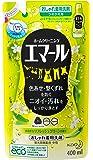 エマール 洗濯洗剤 液体 おしゃれ着用 リフレッシュグリーンの香り つめかえ用 400ml