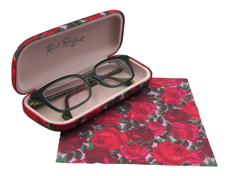 Hard Eyeglass marcos Case | Protege B07C2JXRJV Mujeres anteojos con ...