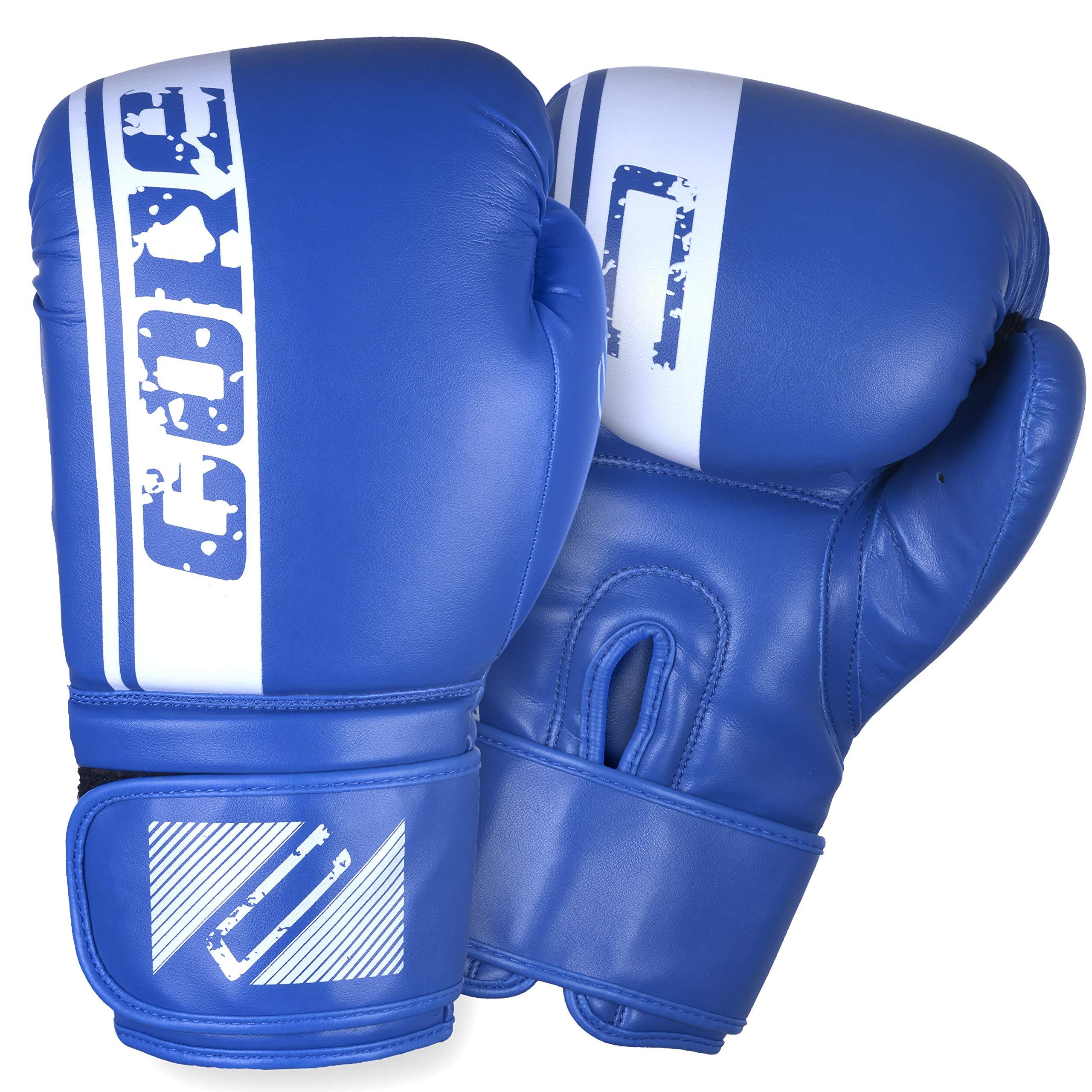 Boxing Gloves Men Women Kids Training Spar Kickboxing Punching Heavy Bag Mitts