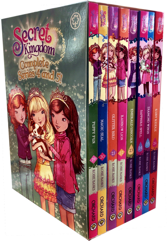 Secret Kingdom Series 4 and 5 Collection Rosie Banks 8 Books Box Set (Book 19-26) (Puppy Fun, Magic Seal, Glitter Bird, Rainbow Lion, Emerald unicorn, Sapphire Spell, Diamond Wings, Ruby Riddle) PDF