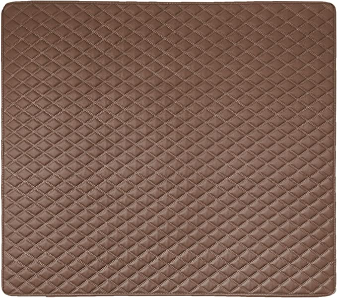 """Diamond 46/"""" Truck SUV Black Color w Gift- Fit Most Car or Van FH Group F16501 Deluxe Heavy-Duty Faux Leather Multi-Purpose Cargo Liner"""