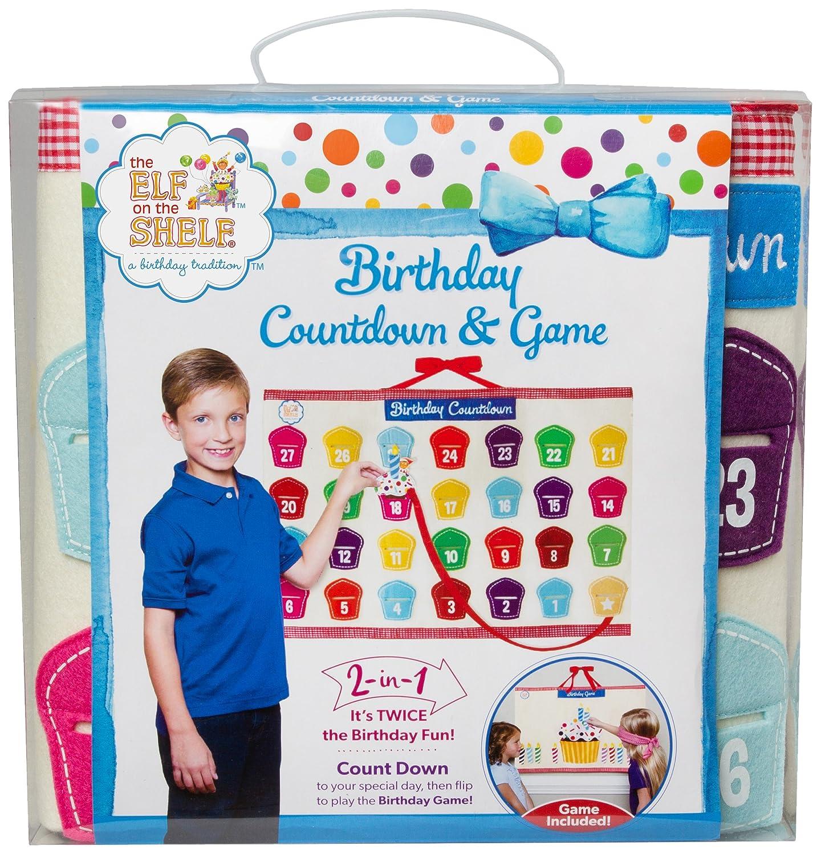 Cumpleaños Cuenta atrás y juego