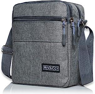 Rivacci Bolso Bandolera Hombre Vintage Pequeño Chest Shoulder Bag ...