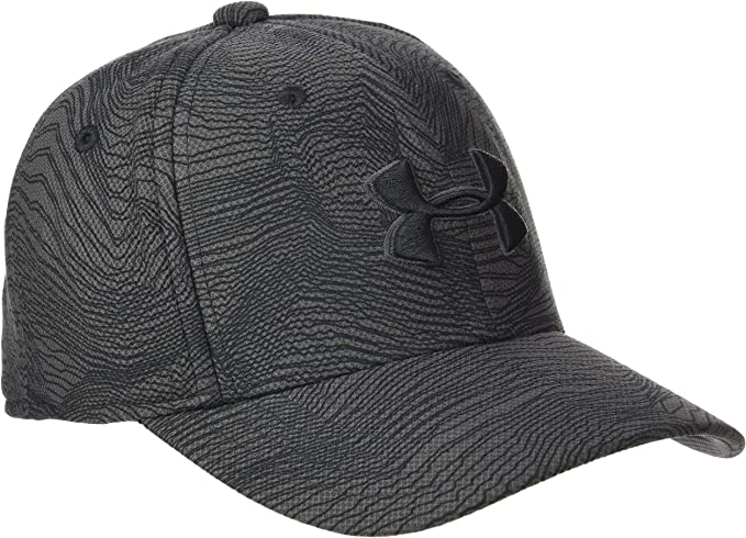 Under Armour Boys Printed Blitzing 3.0 Gorra, Niños, Gris, XS/S ...