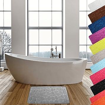 Badematte Home Badezimmerteppich Duschvorleger Badteppich