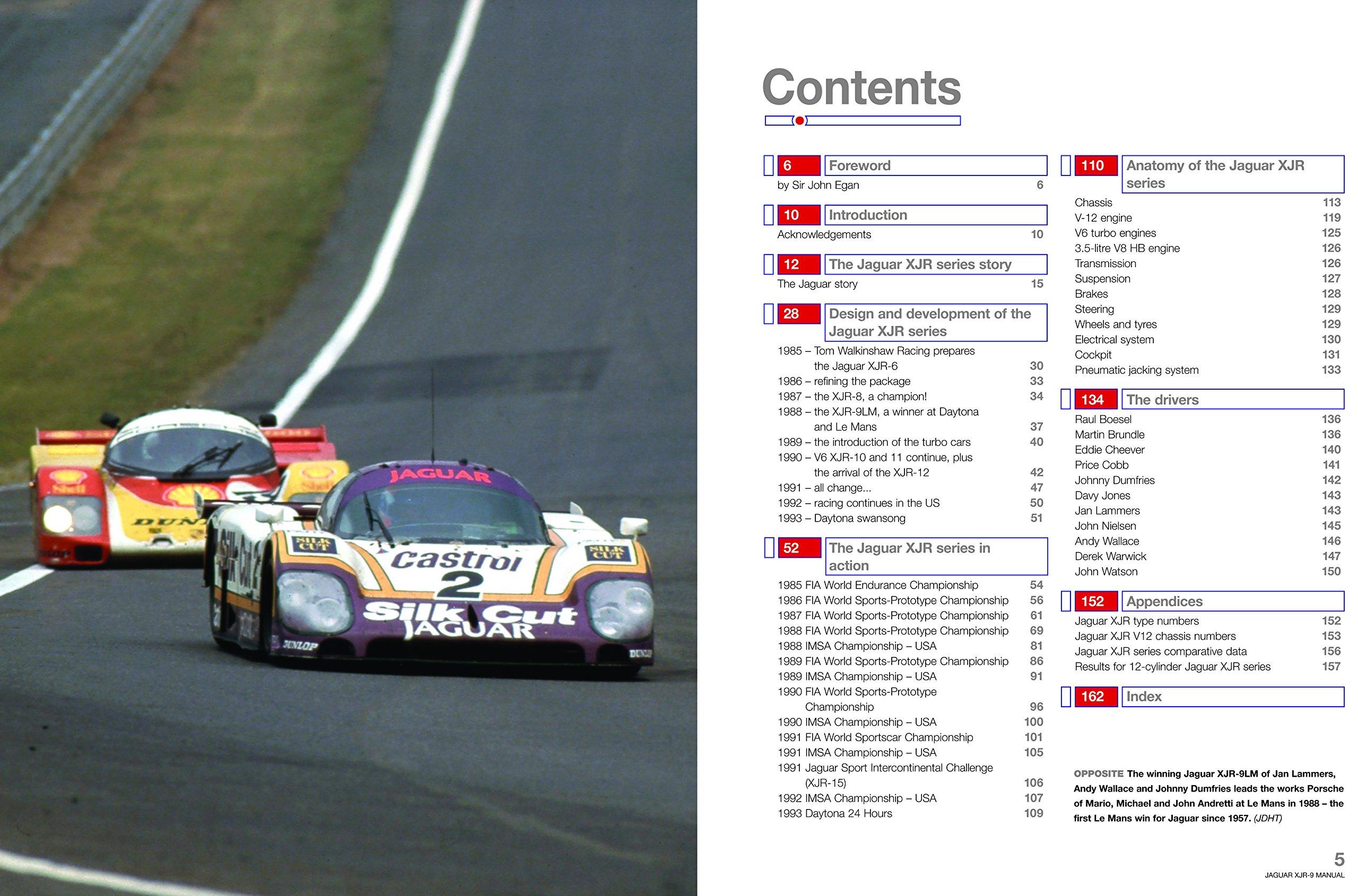 Jaguar XJR-9 (Owners' Workshop Manual): Michael Cotton: 9781785211133:  Amazon.com: Books