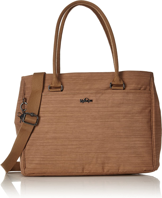 Kipling Women's Artego Laptop Bag Brown (Dazz Tan)
