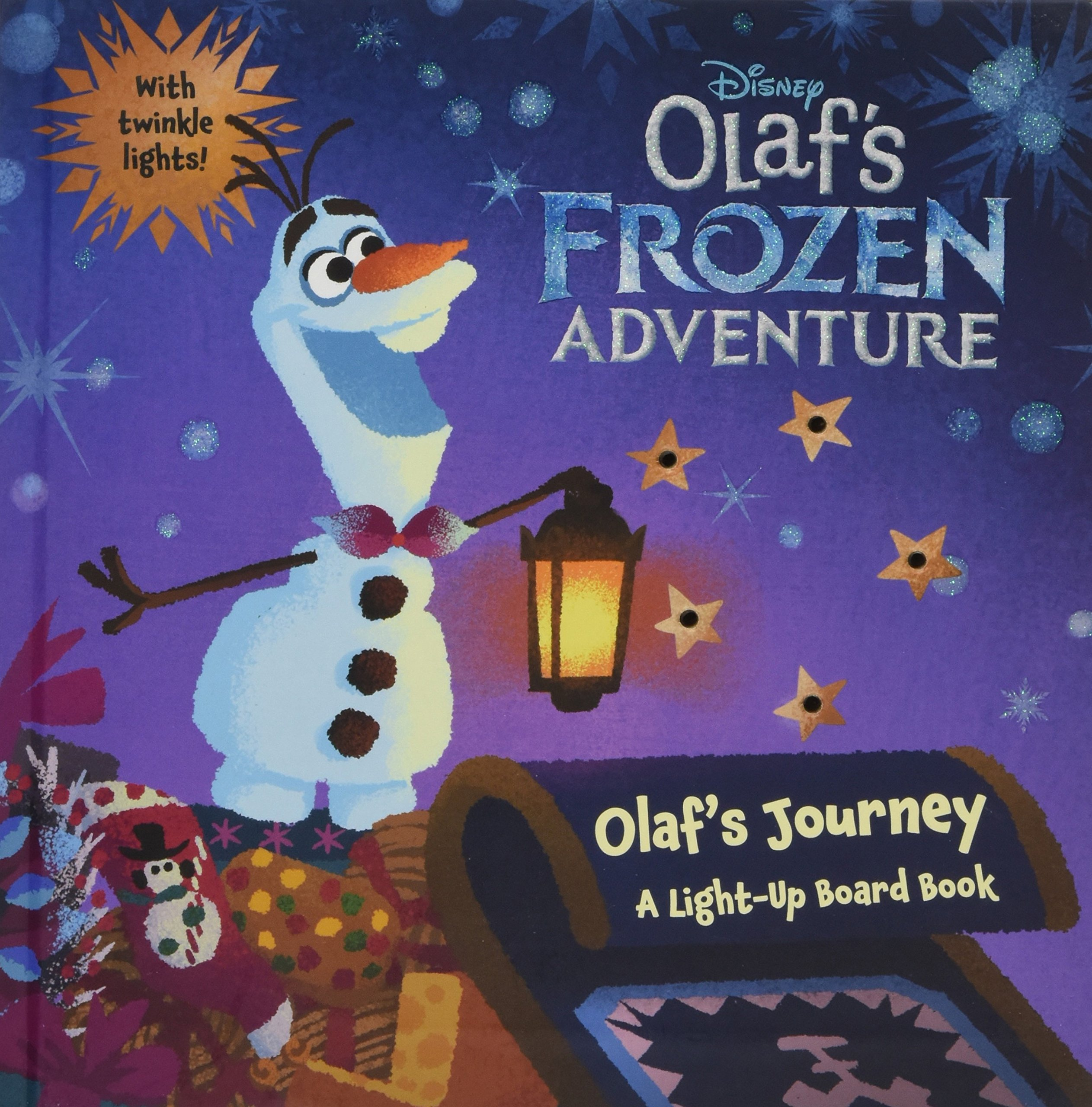 Olaf\'s Frozen Adventure Olaf\'s Journey: A Light-Up Board Book ...