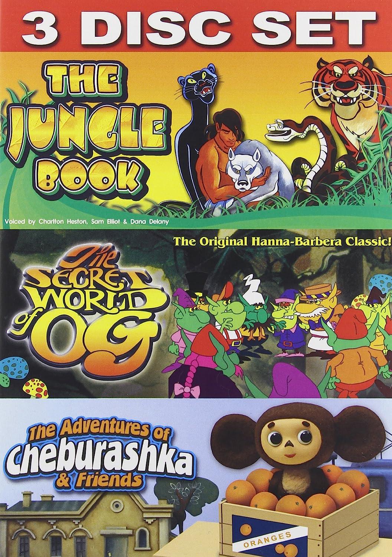 Jungle Book/Cheburashka/Og Og and Cheburashka Visual Entertainment Inc. 61648 Instructional / Educational