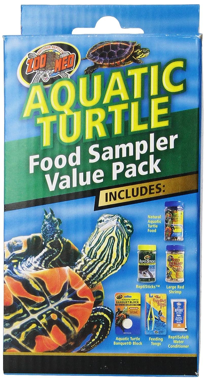 Zoo Med Aquatic Turtle Food Sampler Value Pack FSP1