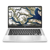 Deals on HP Chromebook 14-inch FHD Laptop w/Intel Celeron N4000