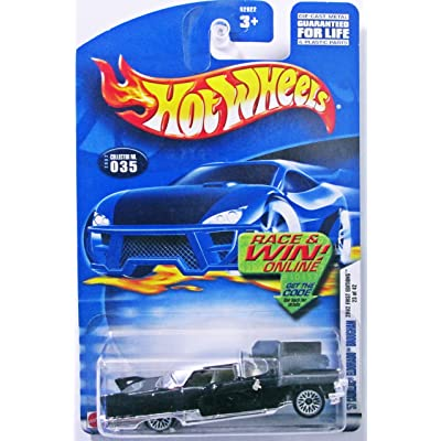 Hot Wheels 2002 First Editions '57 Cadillac Eldorado Brougham 23/42 BLACK #035 #35: Toys & Games