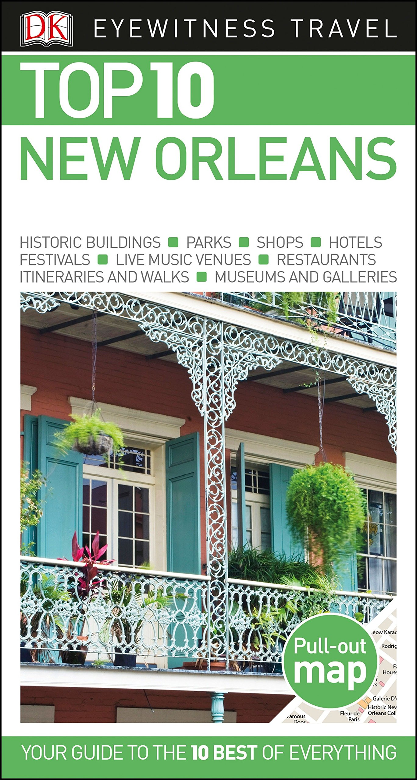 Top 10 New Orleans Pocket Travel Guide Dk Eyewitness
