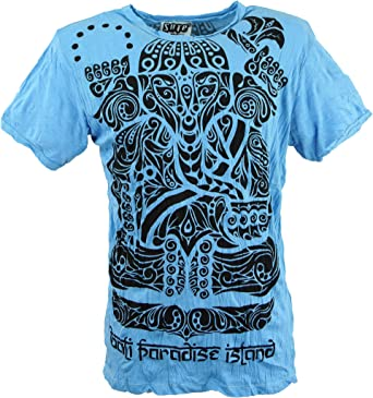 GURU-SHOP Camiseta Sure Tribal Ganesha, Algodón, Camisetas Sure`: Amazon.es: Ropa y accesorios