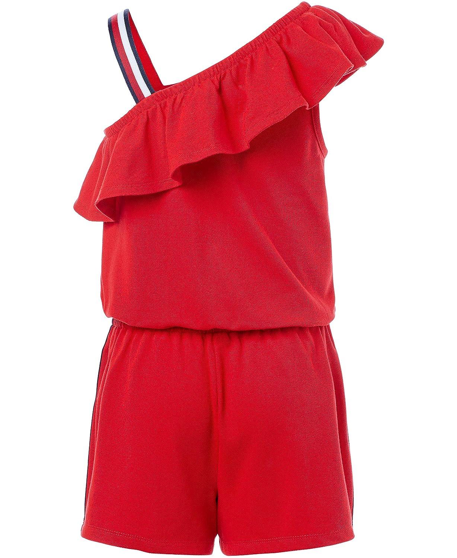 Tommy Hilfiger Big Girls Fashion Romper