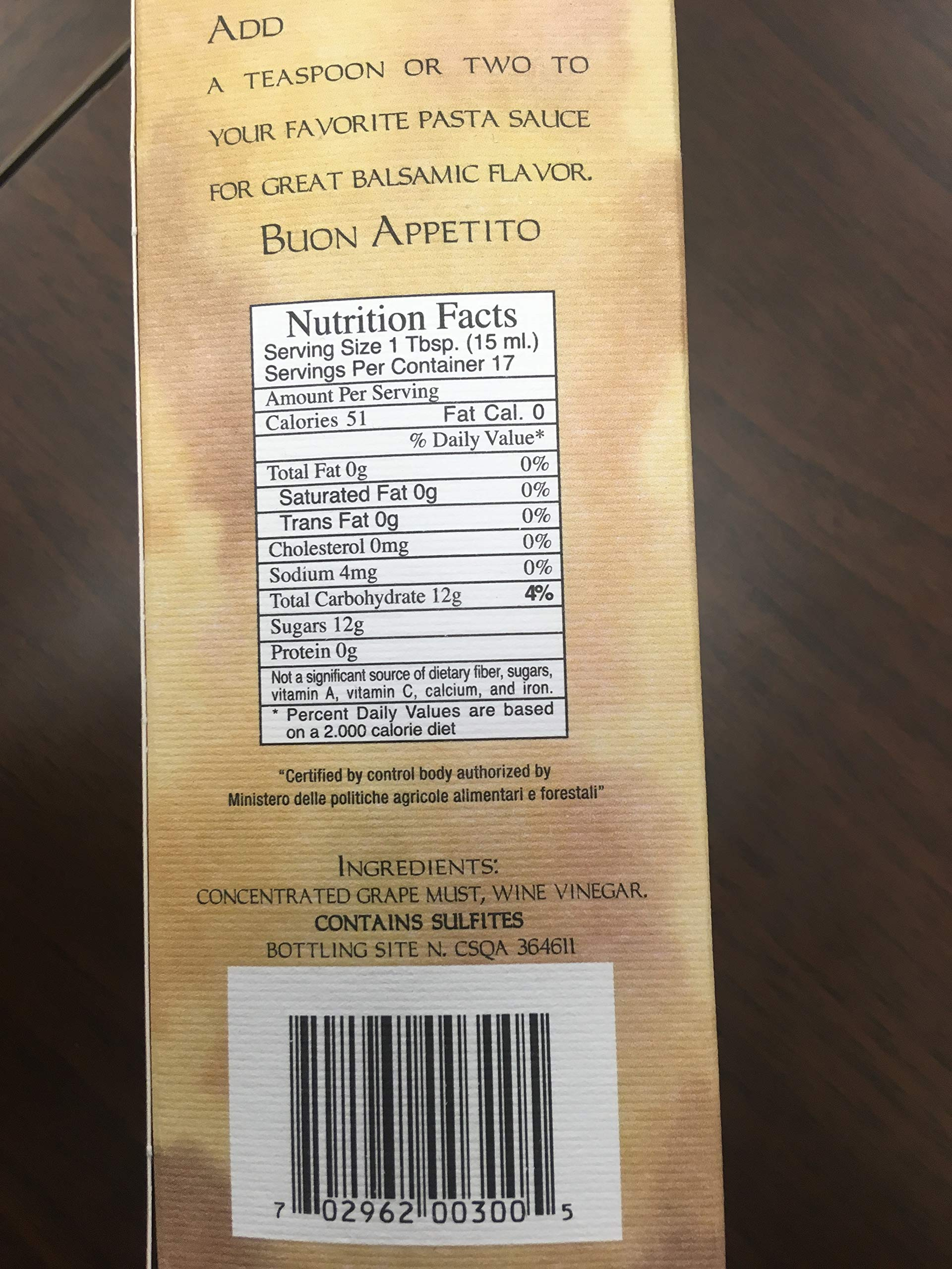 Balsamic Vinegar of Modena by Rubio