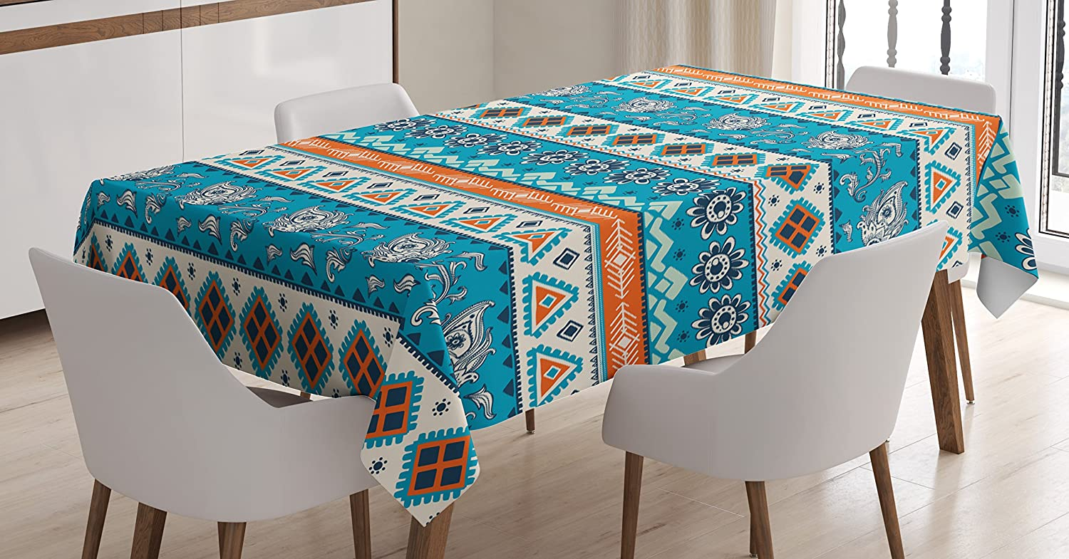 Amazon.com: Native American Tablecloth by Ambesonne, South American ...