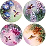 CoasterStone AS8050 Absorbent Coasters, Hummingbird Assortment, 4-1/4-Inch, Set of 4