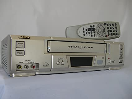 amazon com sanyo vwm 700 vcr 4 head hi fi stereo video cassette rh amazon com Win32 Vwm Vwm X