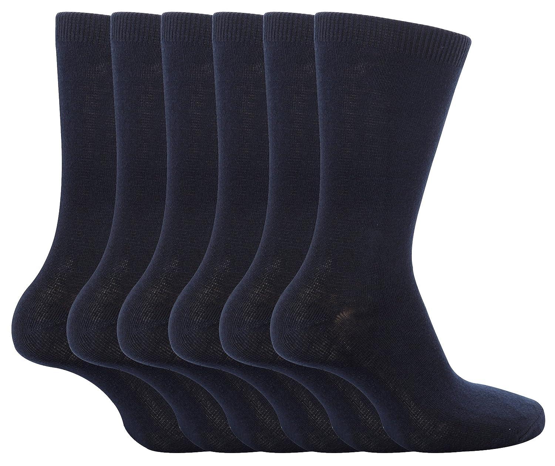 6 Pairs Girls & Boys School Socks, 4 Colours, 3 Sizes