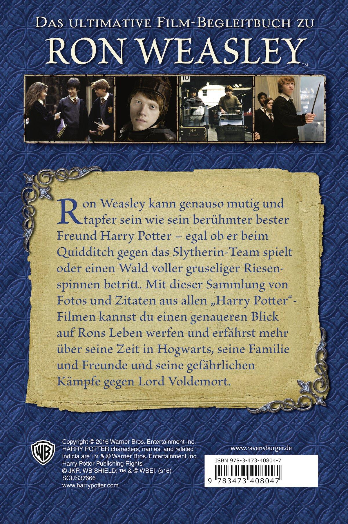 Harry Potter TM . Die Highlights aus den Filmen. Ron Weasley ...