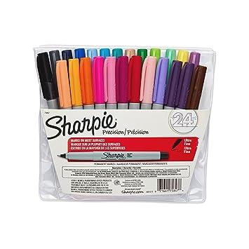 Fine Tip Permanent Marker Pen Monami 1.0mm Name Tags 12 Color Set CD/DVD