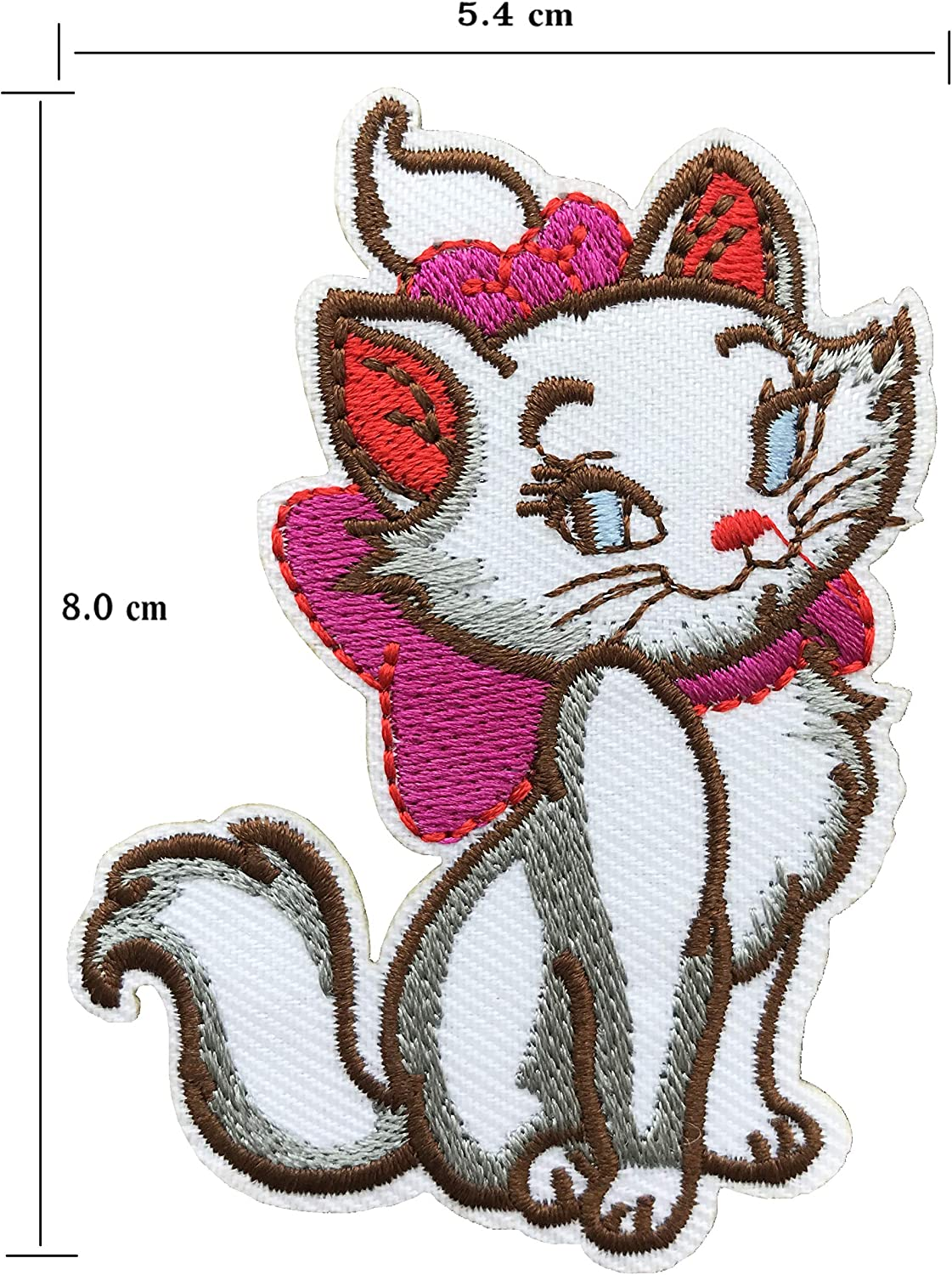 Embroidery Applique Patch Sew Iron Badge Iron On Grumpy Cat In Pumpkin