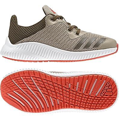 check out 22044 7b2c5 adidas Fortarun K, Chaussures de Fitness Mixte Enfant, Multicolore-Vert  (Caqtra