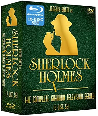 Amazoncom Sherlock Holmes The Complete Series Blu Ray