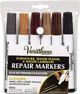 Varathane 347840 Wood Stain Repair Marker Kit, Assorted