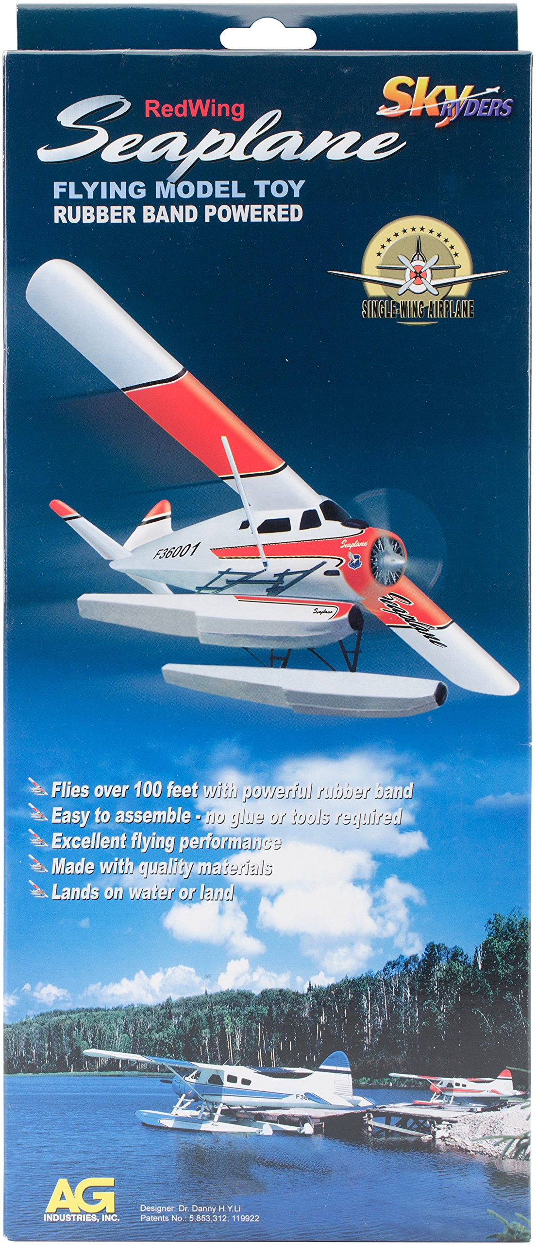 White Wings Red Wing Seaplane without winder