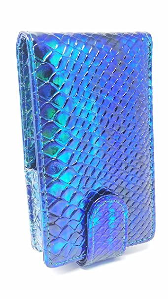 c29f1ce6f1cd LipSense Makeup Lipstick Mermaid Case with Mirror for Purse by Glam In a  Bag | Cosmetic Pouch with...