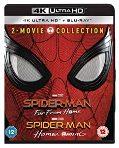 Spider-Man Far From Home & Spider-Man Homecoming [4K Ultra HD + Blu-ray] [2019] [Region Free]