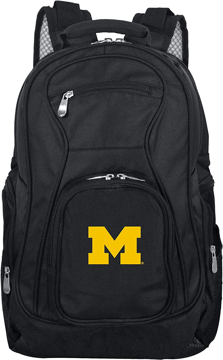 NCAA Laptop Backpack, 19-inches, Black