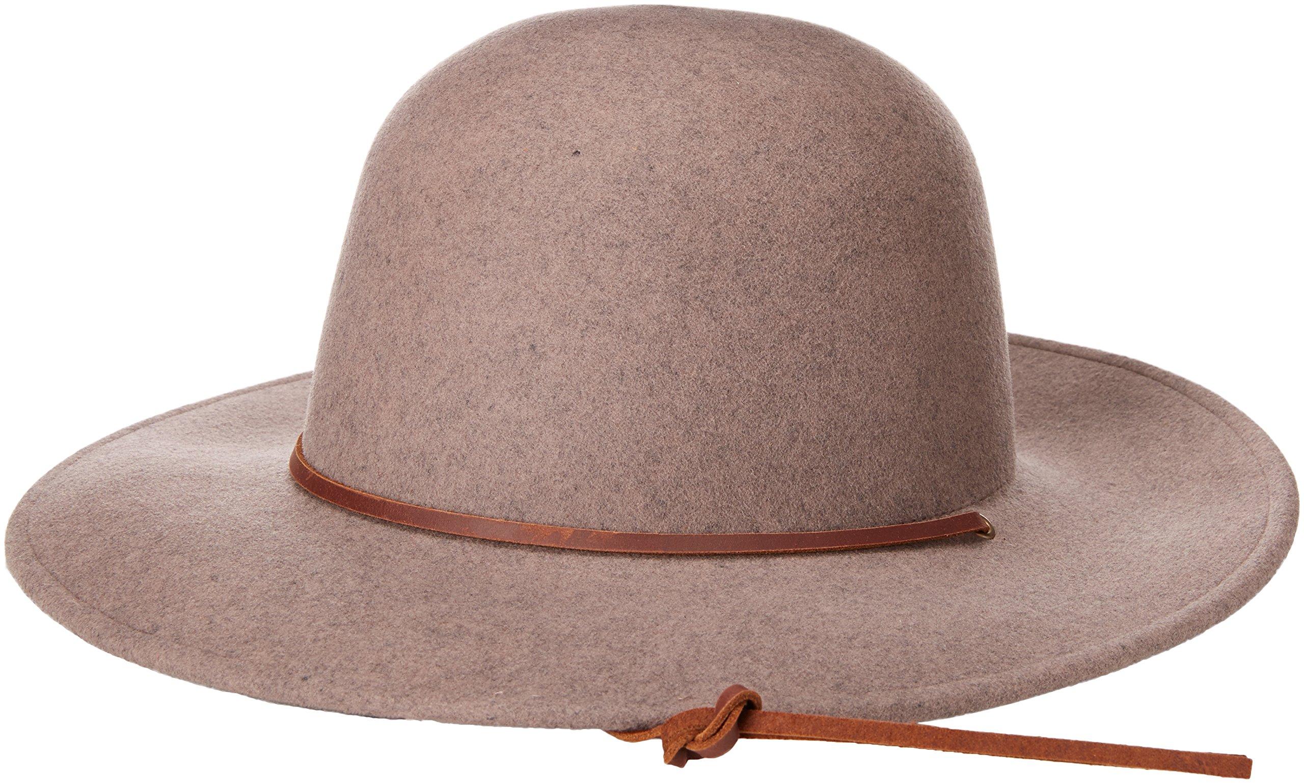 Galleon - Brixton Men s Tiller Wide Brim Felt Fedora Hat bdd08eb3788