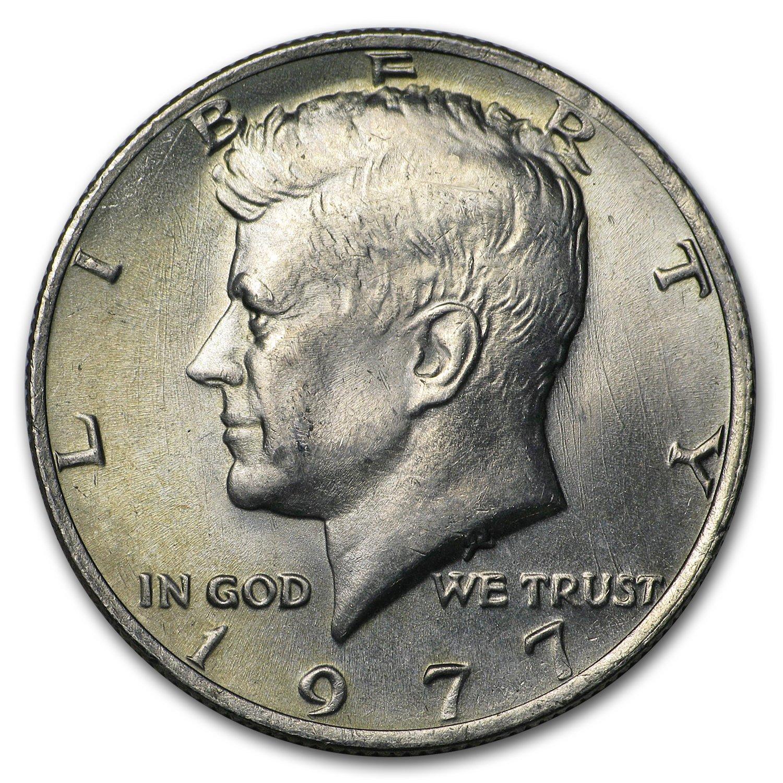 Brilliant Uncirculated 2001 P Kennedy Half Dollar Roll 20 coins