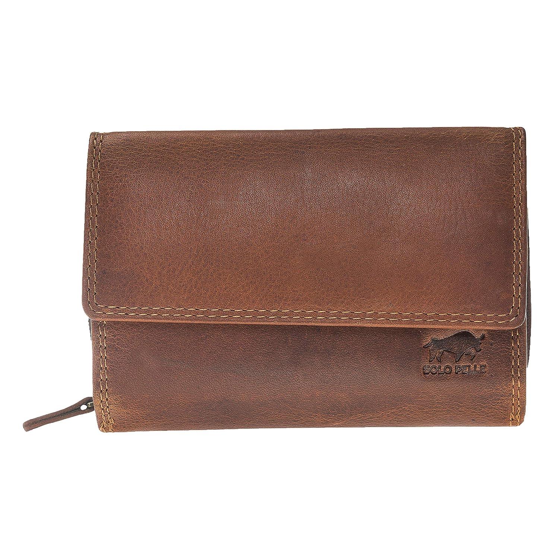 本革マドリード ソロペル財布。ヴィンテージレザー(ヴィンテージブラウン)ギフト用の箱 B018KQTCT0