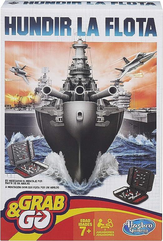 Hasbro Gaming Gaming Travel Hundir la Flota Viaje (Hasbro Spain B0995175): Amazon.es: Juguetes y juegos