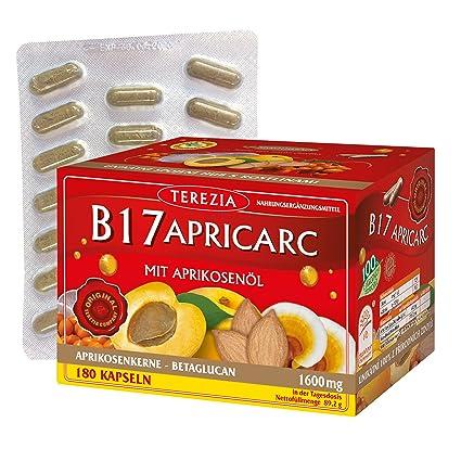 B17 Apricarc con Aceite de Albaricoque, Seta de Ostra, Reishi un Espino amarillo,